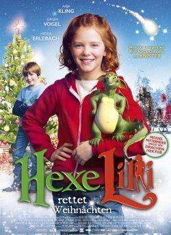 Hexe Lilli rettet Weihnachten - Plakat zum Film