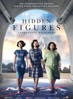 Hidden Figures - Unerkannte Heldinnen - Plakat zum Film