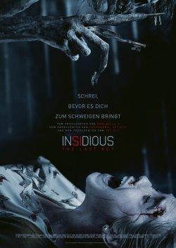 Insidious - The Last Key - Plakat zum Film