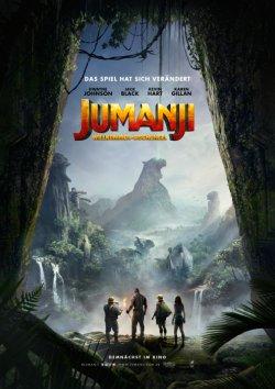 Jumanji: Willkommen im Dschungel - Plakat zum Film