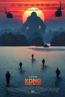 Kong: Skull Island - Plakat zum Film