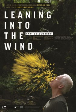 Leaning Into The Wind - Andy Goldsworthy - Plakat zum Film
