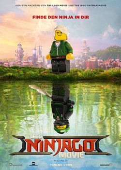 The LEGO Ninjago Movie - Plakat zum Film