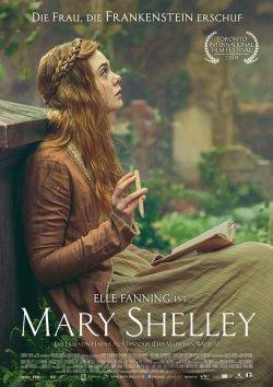 Mary Shelley - Plakat zum Film