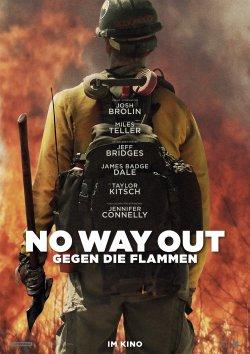 No Way Out - Gegen die Flammen - Plakat zum Film