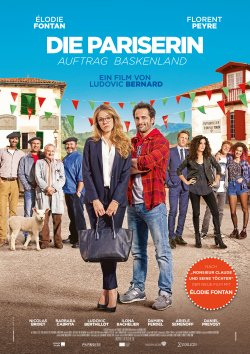 Die Pariserin - Auftrag Baskenland - Plakat zum Film