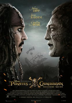 Pirates Of The Caribbean: Salazars Rache - Plakat zum Film