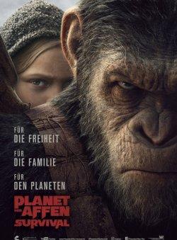 Planet der Affen: Survival - Plakat zum Film