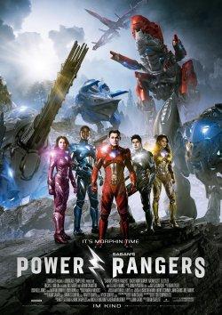Power Rangers - Plakat zum Film
