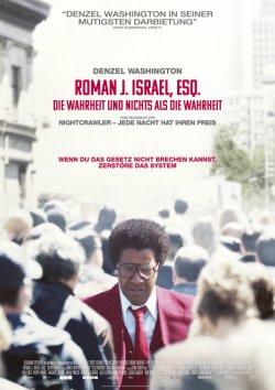 Roman J. Israel, Esq. - Die Wahrheit und nichts als die Wahrheit - Plakat zum Film