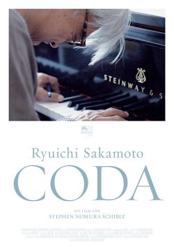 Ryuichi Sakamoto: Coda - Plakat zum Film