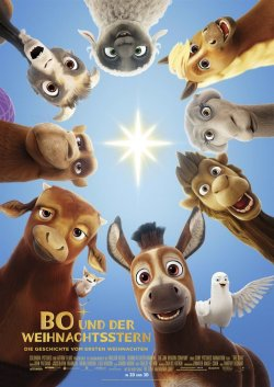 Bo und der Weihnachtsstern - Plakat zum Film
