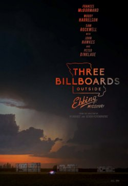 Three Billboards Outside Ebbing, Missouri - Plakat zum Film