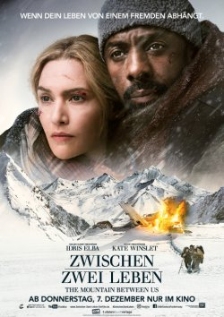 Zwischen zwei Leben - The Mountain Between Us - Plakat zum Film
