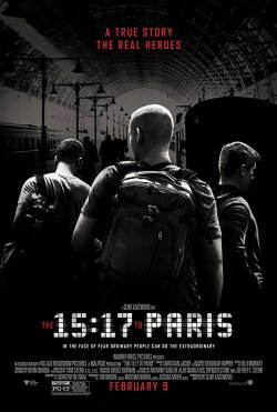 15:17 To Paris - Plakat zum Film