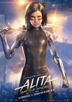 Alita: Battle Angel - Plakat zum Film