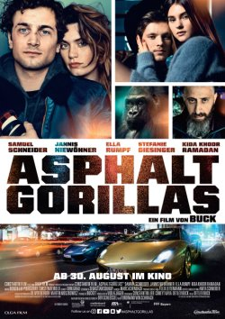 Asphaltgorillas - Plakat zum Film
