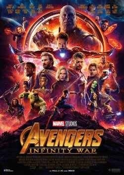 Avengers: Infinity War - Plakat zum Film