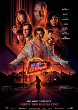 Bad Times At The El Royale - Plakat zum Film