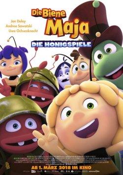 Die Biene Maja - Die Honigspiele - Plakat zum Film