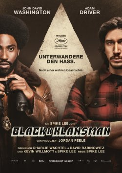 BlacKkKlansman - Plakat zum Film