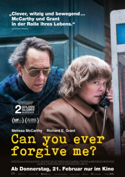Can You Ever Forgive Me? - Plakat zum Film