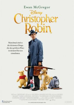 Christopher Robin - Plakat zum Film