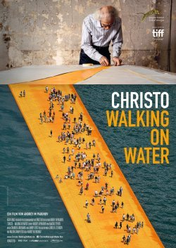 Christo - Walking On Water - Plakat zum Film