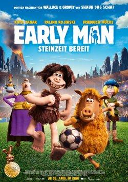 Early Man - Steinzeit bereit - Plakat zum Film