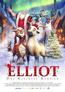 Elliot, das kleinste Rentier - Plakat zum Film