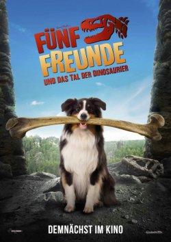 Fünf Freunde und das Tal der Dinosaurier - Plakat zum Film