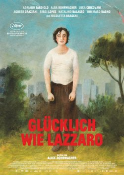 Glücklich wie Lazzaro - Plakat zum Film