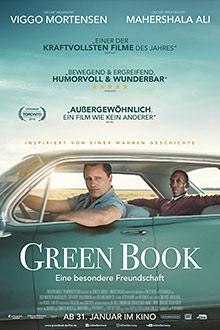 Green Book - Eine besondere Freundschaft - Plakat zum Film