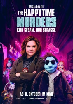 The Happytime Murders - Plakat zum Film