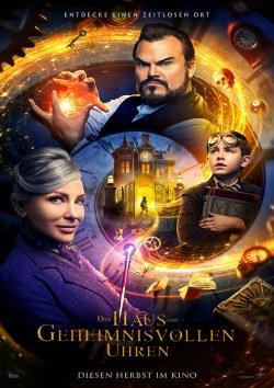 Das Haus der geheimnisvollen Uhren - Plakat zum Film