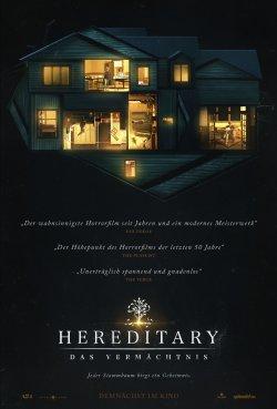 Hereditary - Das Vermächtnis - Plakat zum Film