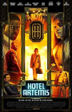 Hotel Artemis - Plakat zum Film