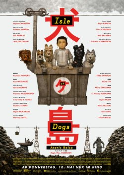 Isle Of Dogs - Ataris Reise - Plakat zum Film