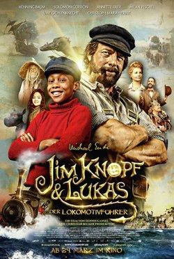 Jim Knopf und Lukas, der Lokomotivführer - Plakat zum Film