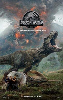 Jurassic World: Das gefallene Königreich - Plakat zum Film