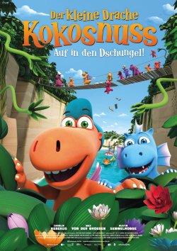 Der kleine Drache Kokosnuss - Auf in den Dschungel! - Plakat zum Film