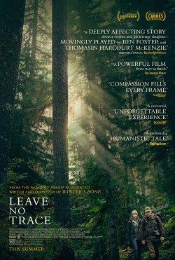 Leave No Trace - Plakat zum Film