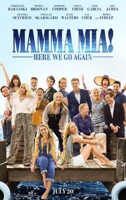 Mamma Mia! Here We Go Again - Plakat zum Film