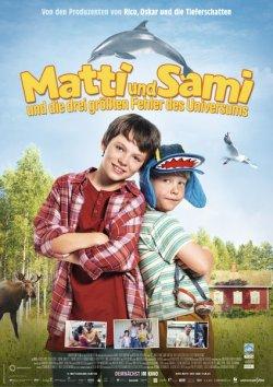 Matti und Sami und die drei größten Fehler des Universums - Plakat zum Film