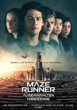 Maze Runner - Die Auserwählten in der Todeszone - Plakat zum Film