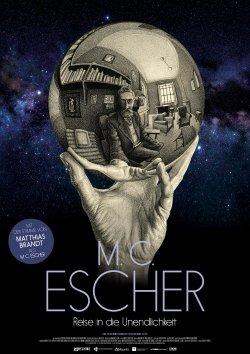 M.C. Escher - Reise in die Unendlichkeit - Plakat zum Film
