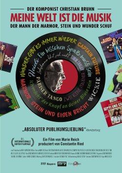 Meine Welt ist die Musik - Der Komponist Christian Bruhn - Plakat zum Film