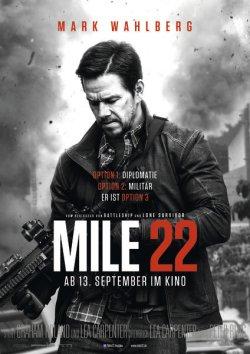 Mile 22 - Plakat zum Film