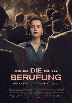 Die Berufung - Ihr Kampf für Gerechtigkeit - Plakat zum Film