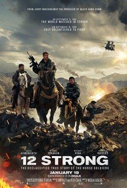 Operation: 12 Strong - Plakat zum Film
